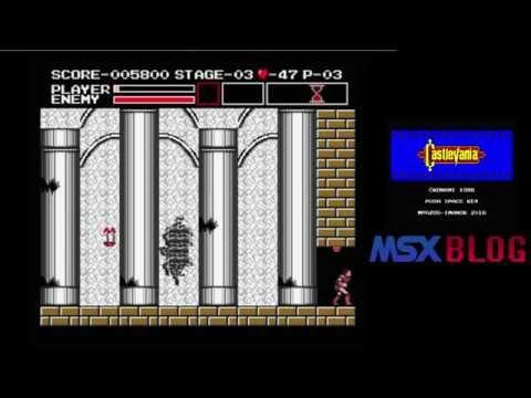 Jugando a... Castlevania (MSX2) (I)