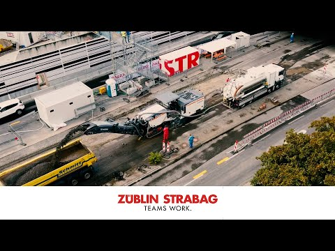 STRABAG/ZÜBLIN – B10/B14 Verbindung am Leuze