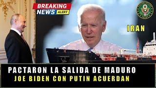 Esto fue lo que ACORDARON para una salida a MADURO Joe Biden con Putin