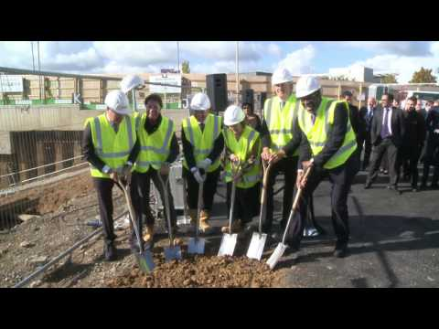 Sir Cliff Richard joins Ground Breaking ceremony at Terminal 4