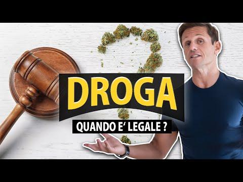DROGA: QUANDO È LEGALE? | avv. Angelo Greco