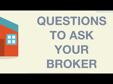10 Questions You Should Ask Your Mortgage Broker (Ep268)