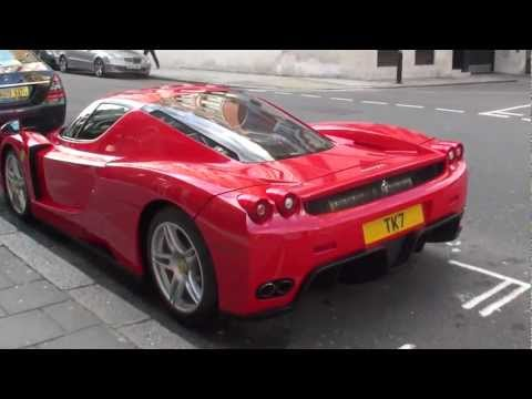 2011 Ferrari-Enzo caught in London