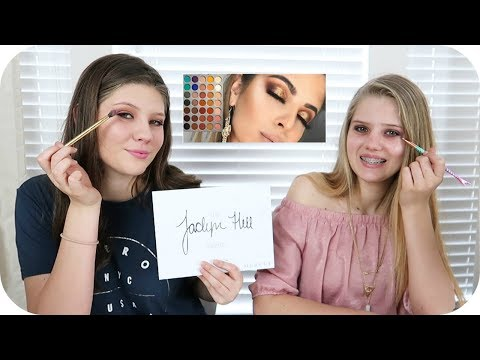 connectYoutube - I TRIED FOLLOWING LAURA LEE MAKEUP TUTORIAL || MAKE UP CHALLENGE || Taylor and Vanessa
