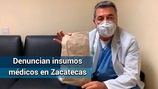 Reclaman calidad de insumos para atender Covid en IMSS de Zacatecas
