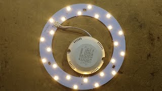 LED retrofit ring and driver for bulkhead style lights.