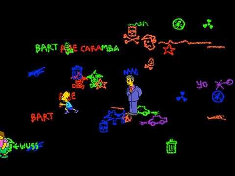 After Dark: The Simpsons Screen Saver (Objets B'art) (Berkeley Systems) (Windows 3.x) [1994]