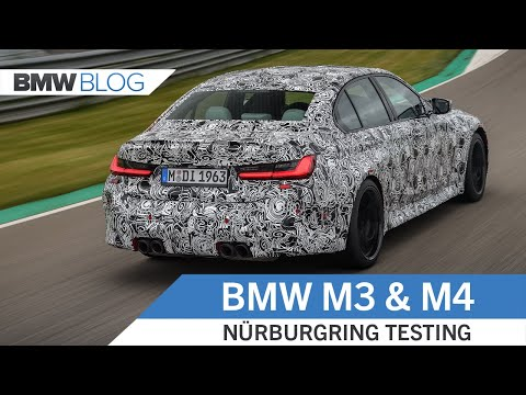 2021 BMW M3 and M4 Prototypes– Nürburgring Testing