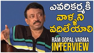 Ram Gopal Varma About Parenting Limits And Kids Behavior | TFPC Exclusive Interview - TFPC