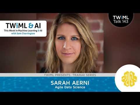 Sarah Aerni Interview - Agile Data Science