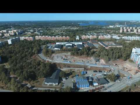 Byggstart för Tingstorget i Alby