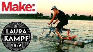 Laura Kampf's Water Bike!