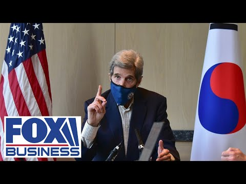 Biden, Kerry double down on going green, while China gets a pass