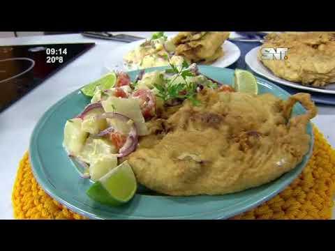 Cocina LMCD: Marinera con ensalada de mandioca