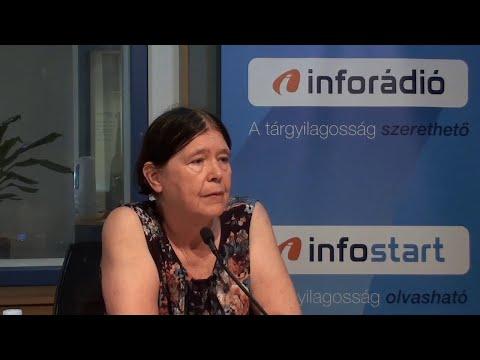 InfoRádió - Aréna - Bartholy Judit - 2. rész - 2020.07.30.