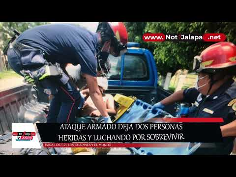 Ataque Armado Deja Dos Personas Heridas Y Luchando Por Sobrevivir 1