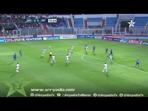 الدفاع الجديدي 0-1 إتحاد طنجة هدف عمر العرجون