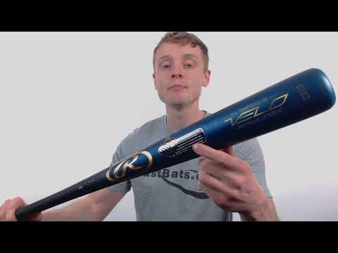 Review: Rawlings VELO Composite Wood Baseball Bat (R110CR)