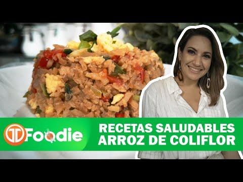 RECETA SALUDABLE | ARROZ DE COLIFLOR CON POLLO