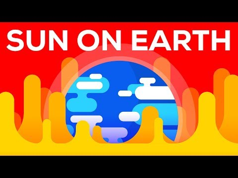 What Happens If We Bring the Sun to Earth?