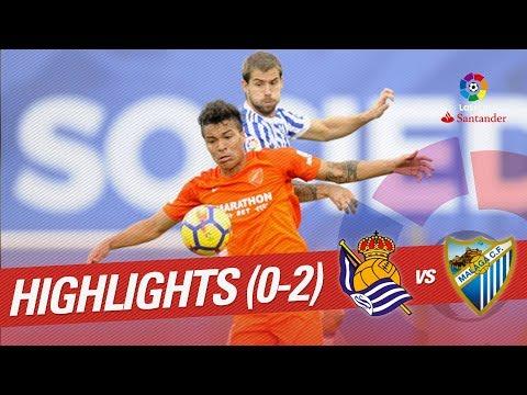 Resumen de Real Sociedad vs Málaga CF (0-2)
