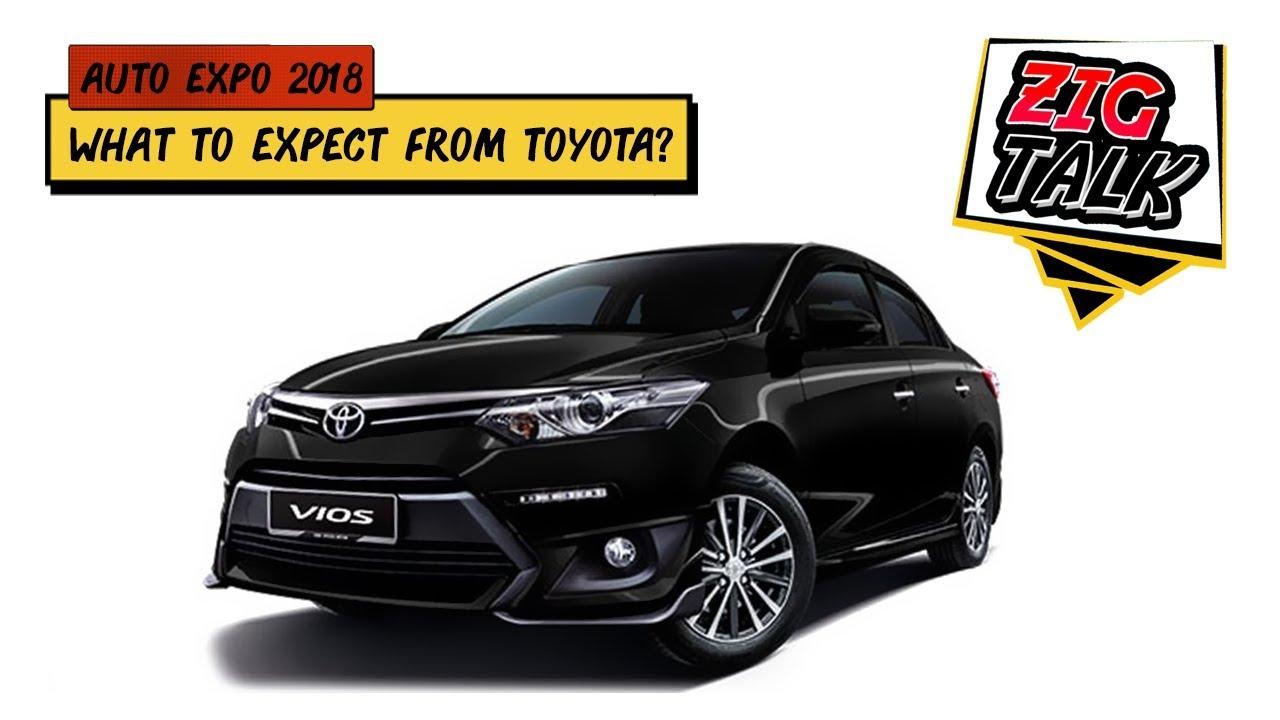 Toyota @ Auto Expo 2018: What To Expect | ZigTalk | ZigWheels.com