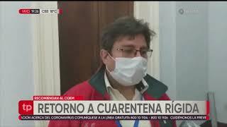 Sucre: Comité Científico recomienda volver a la cuarentena rígida