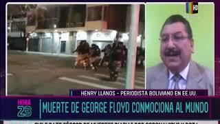 Muerte de George Floyd conmociona al mundo