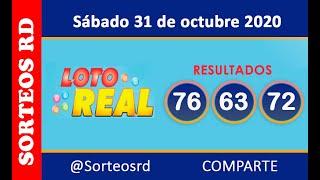 Loteria Real en VIVO  / Sábado 31 de octubre 2020