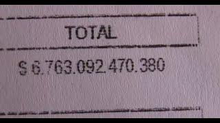 Mujer recibió 6 billones de pesos en su Cuenta Rut: Más dinero que el PIB de Chile