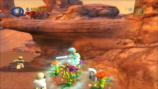 LEGO Star Wars II Walkthrough Episode IV Chapter 2 Through The Jundland Wastes [1/4]