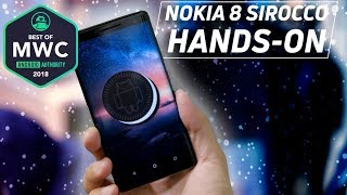 Nokia 8 Sirocco Hands-On: High-end Android One