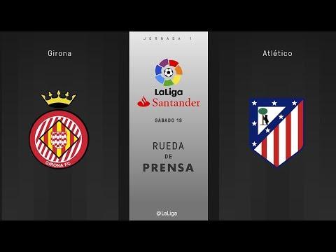 Rueda de prensa Girona vs Atlético