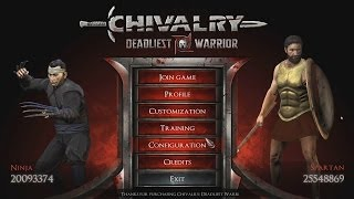 AngryJoe in Chivalry: Deadliest Warrior Tourney!