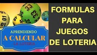 Una Formula para Los Numeros de LA LOTERIA NACIONAL , live casino online 16-07-2018