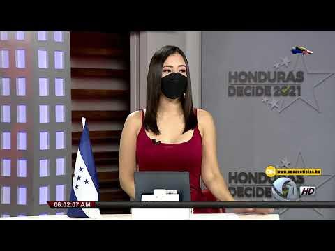 Once Noticias Primera Hora | Arranca jornada de vacunación en el departamento de Comayagua