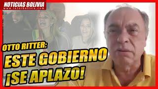 ???? Otto Ritter le habla a la sr. Añez, manifiesta q su gobierno se aplazó.esta todo mal ????