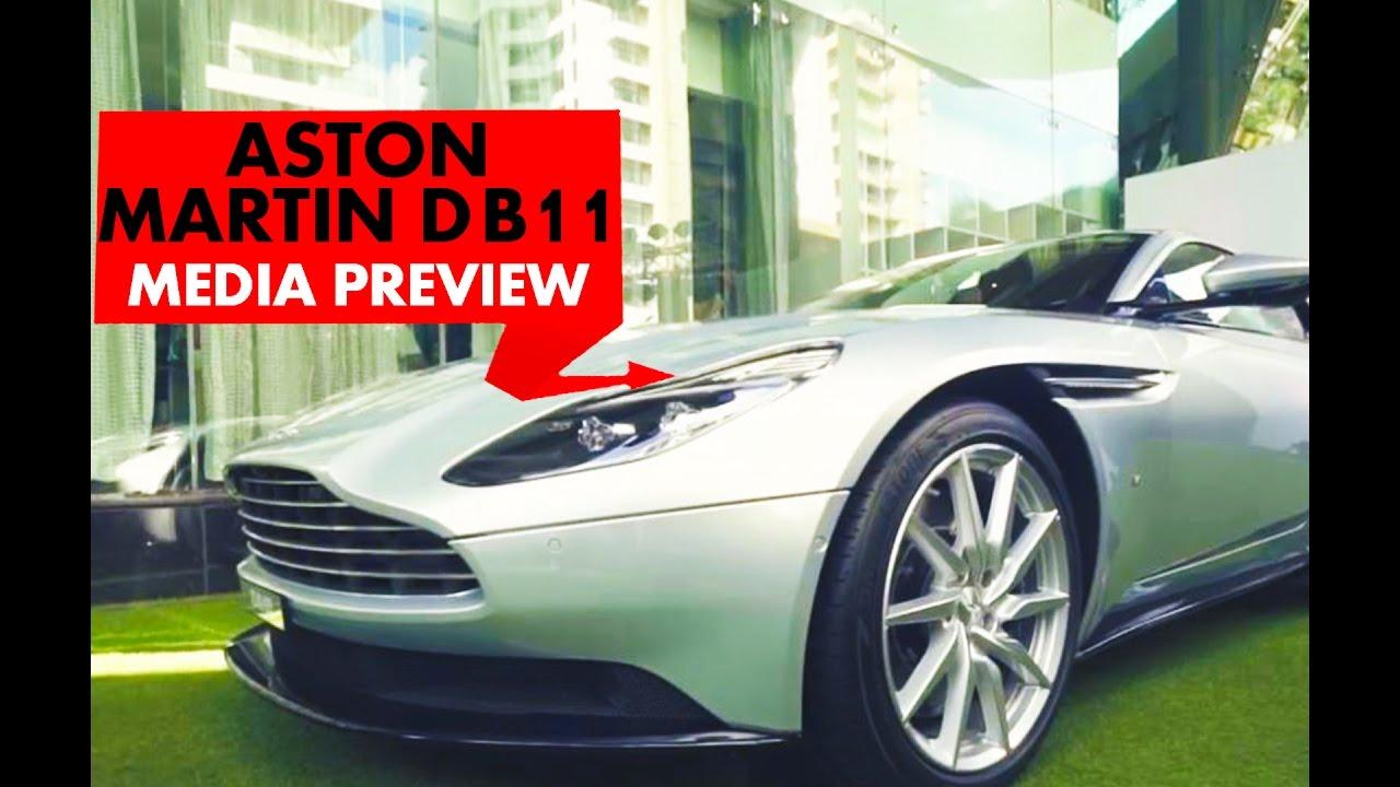 एस्टन मार्टिन डीबी11 : media preview : powerdrift