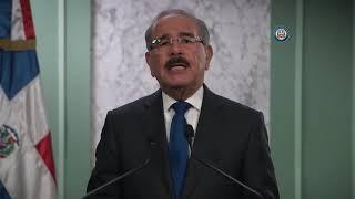 Ante el CoronaVirus Danilo Medina habla al pueblo Dominicano