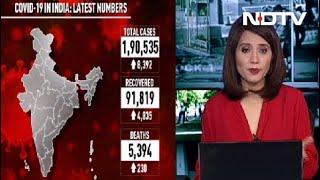 8,392 Coronavirus Cases In India In 24 Hours, Biggest Jump So Far - NDTV