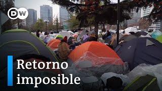 Miles de migrantes no pueden volver a casa