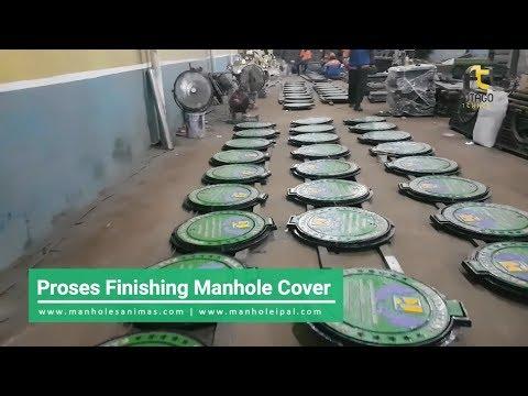 Yuk Intip Pembuatan Tutup Gorong-Gorong Sanitasi