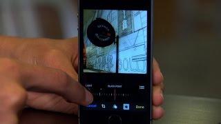 iOS 8's advanced photo-editing tools