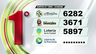 RESUMEN La Matutina - Sorteo N° 1293 / 21-05-2020 - La Rionegrina en VIVO