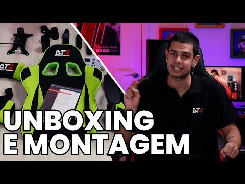 Unboxing e Montagem da Mizano Fabric!