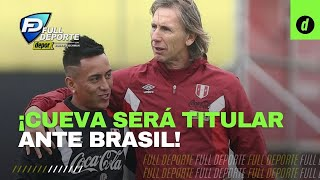 Brasil vs Perú: Christian Cueva será titular en el debut de la COPA AMÉRICA