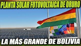 Inauguran la Fase 2 de la Planta Solar Fotovoltaica Más Grande de Bolivia