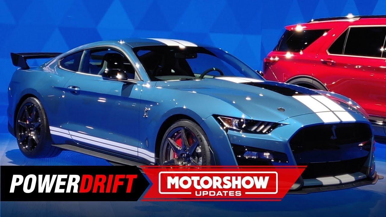 2020 फोर्ड मस्टैंग shelby gt500 : 700+ hp frenzy : 2019 detroit ऑटो show : powerdrift