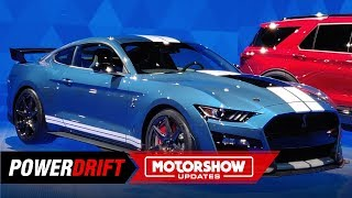 2020 Ford Mustang Shelby GT500 : 700+ HP frenzy : 2019 Detroit Auto Show : PowerDrift