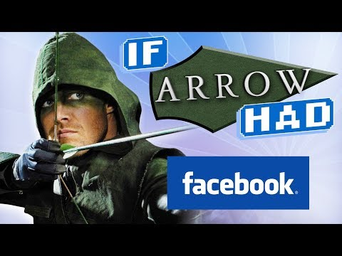 connectYoutube - IF DC HAD FACEBOOK: ArrowVerse Edition